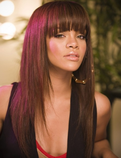 Groovy Rihanna Hairstyles Gallery 28 Rihanna Hair Pictures Pretty Designs Short Hairstyles For Black Women Fulllsitofus