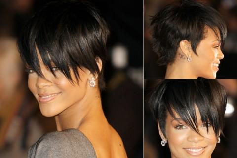 Rihanna-Short-Hairstyles