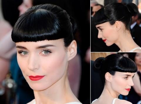 Rooney-Mara's short hairstyles