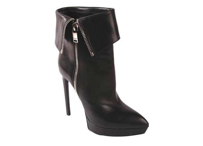 SAINT LAURENT Janis Side Zip Ankle Boot