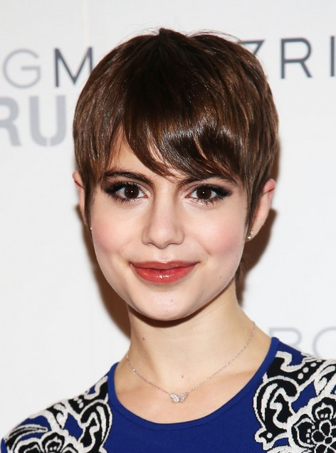 Sami Gayle Short Hair Style  - Chic Pixie Cut for Thin Hair