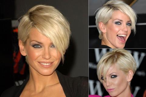 Sarah Harding's Short Hairstyles