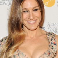 Sarah Jessica Parker Long Hair style-2014 Side Parted Waves