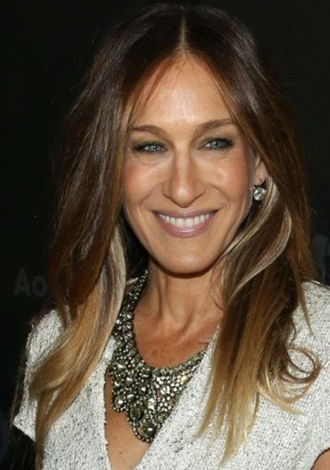 Sarah Jessica Parker Long Hairstyle: Casual Straight Hair