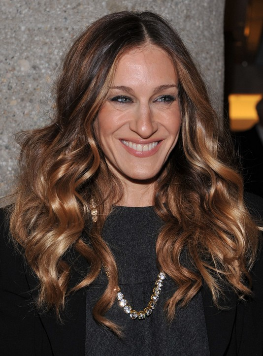 Cool Sarah Jessica Parker Long Hairstyle Heavy Curls Pretty Designs Short Hairstyles For Black Women Fulllsitofus