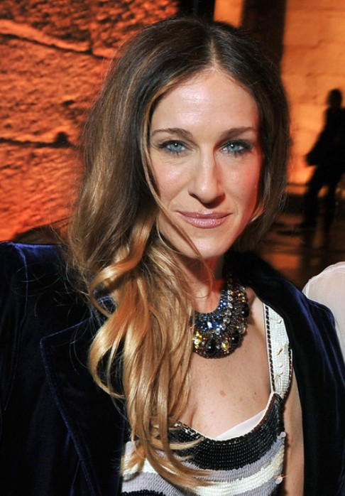 Sarah Jessica Parker Long Hairstyle: Layered Curls