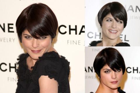 Selma Blair's Short hairstyles