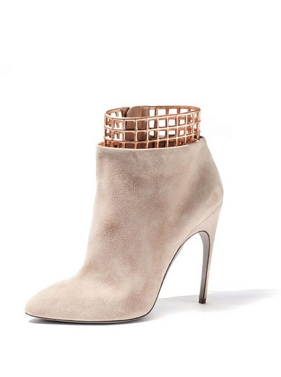 Sergio Rossi Taupe Shoes