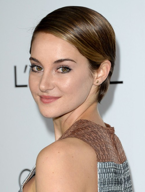 Shailene Woodley's Short Hairstyles: Playful Pixie Haircut for 2014