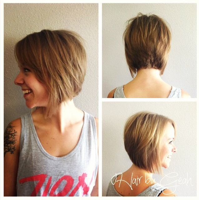 Medium bob hair styles for