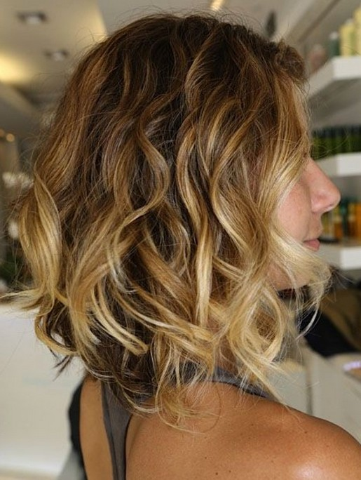Short Ombre Hair – Side View of Short Ombred Hairstyle /Tumblr