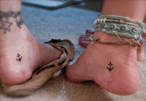 Anchor Tattoos Meaning Fading Trend Or Up And Coming Fashion Pretty Designs