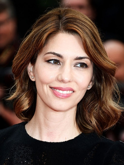 Sofia Coppola's Short Hairstyles: Wavy Haircut for Women