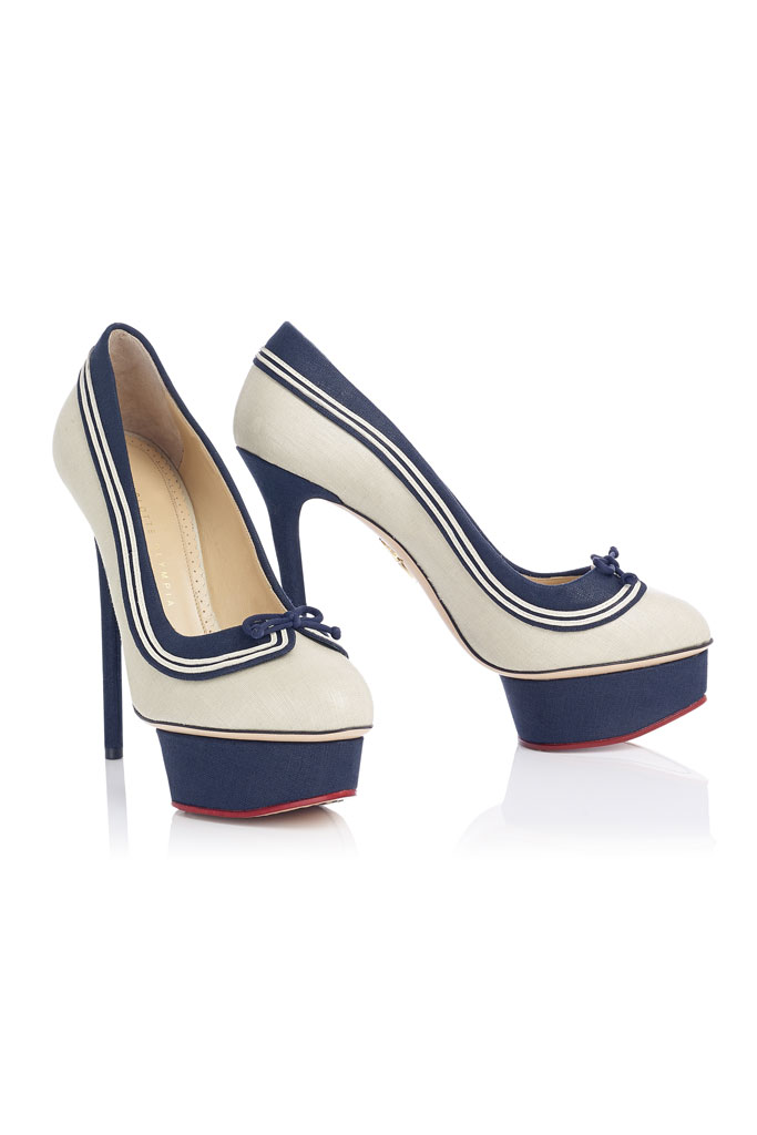 Spring 2014 Charlotte Olympia Pumps