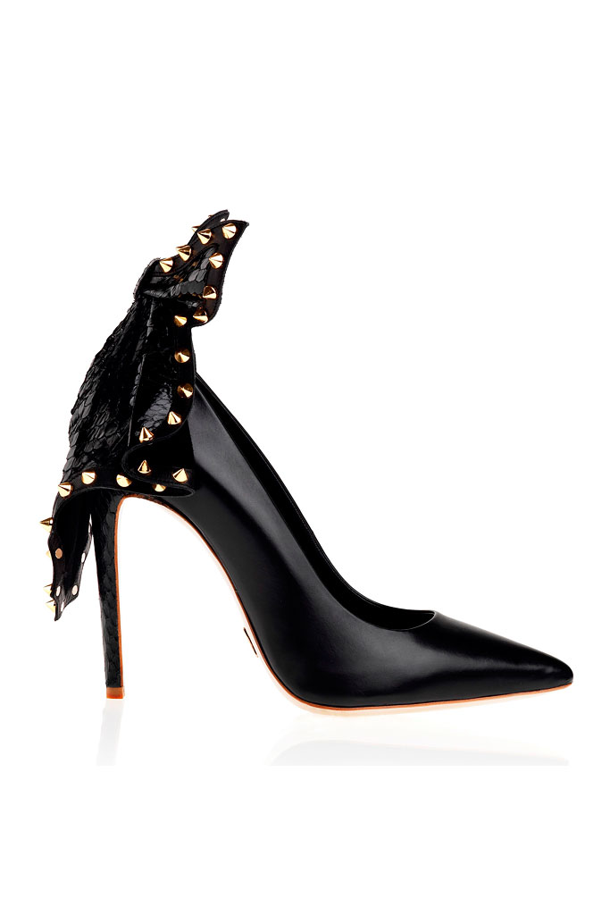 Spring 2014 Daniele Michetti Pumps,black