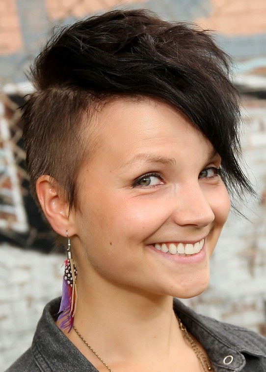 16 Pompadour Amp Quiff Hairstyles For Women Pretty Designs
