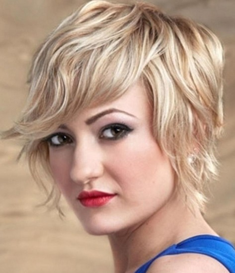 Textured Short Haircut for 2014