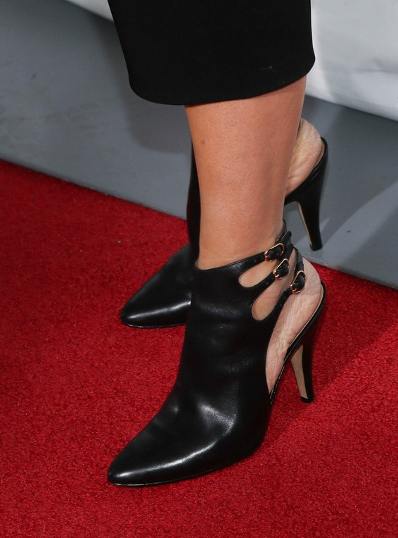 Toni Collette's Ankle boots