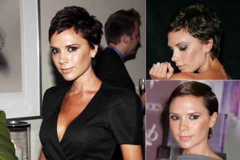 Victoria Beckham's Short Hairstyles