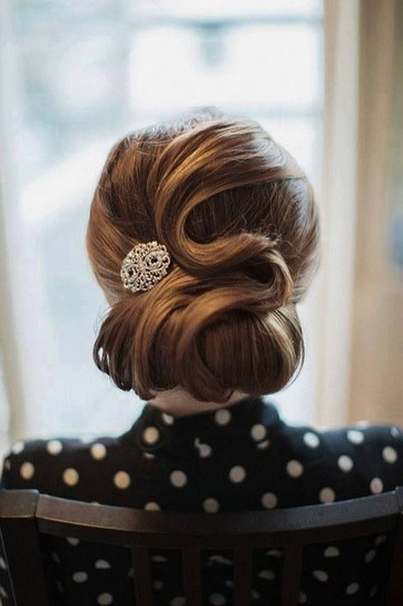 dainty vintage updo hairstyles pretty designs