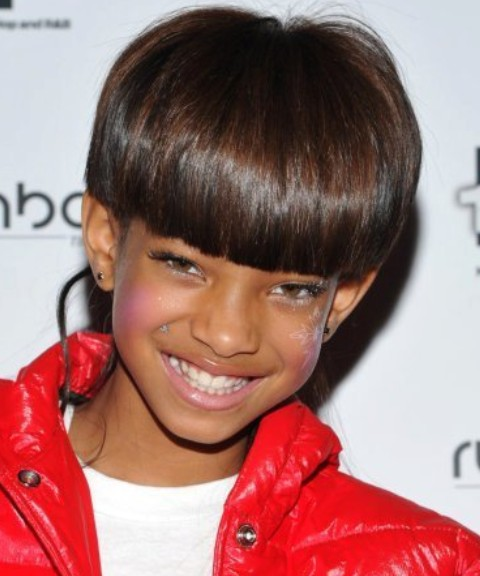 Will Smith Hairstyle Willow Smith Hairstyles Sweet