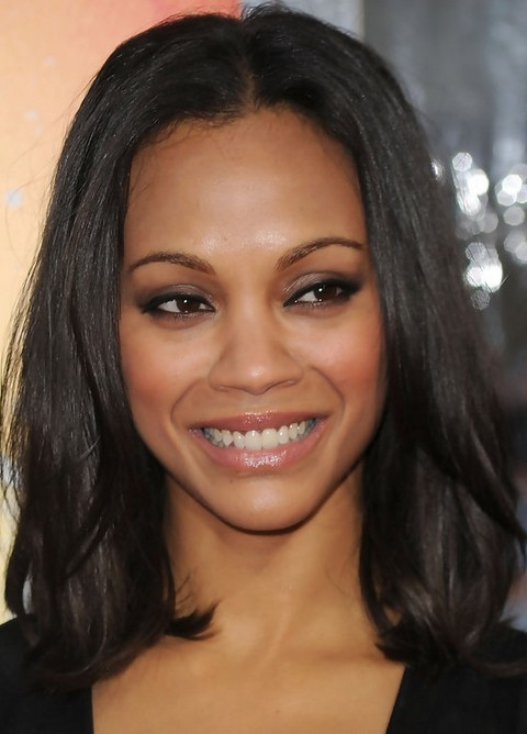Top 17 Zoe Saldana Hairstyles Pretty Designs