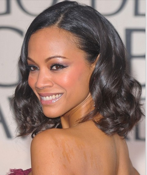 Top Zoe Saldana Hairstyles Pretty Designs
