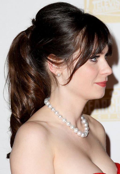 Zooey Deschanel Bangs 27 Zooey Deschanel Hai...