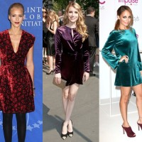 celebrities-wearing-velvet-dress