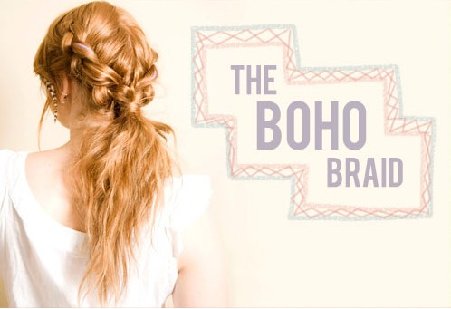 20 Braided Hairstyles Tutorials: Boho Hairstyle for Holiday