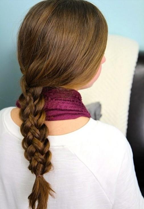 20 Braided Hairstyles Tutorials: Cute Stacked Braids