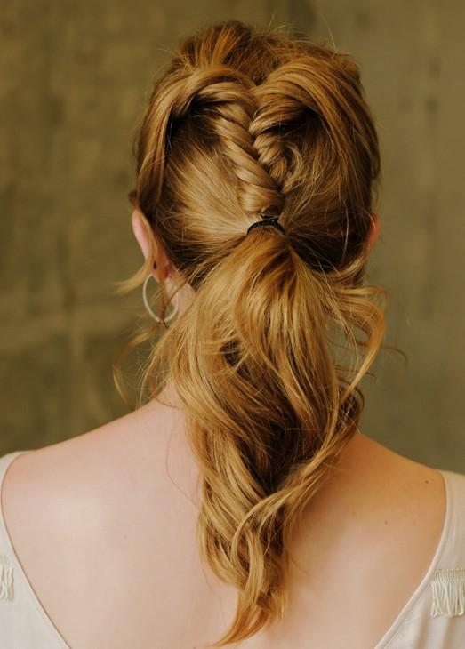 20 Braided Hairstyles Tutorials: Fishtail Braid Ponytail