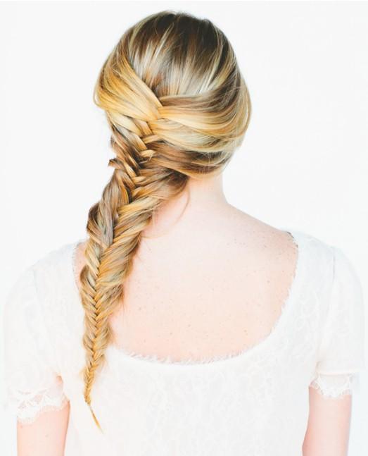 20 Braided Hairstyles Tutorials: Fishtail Braid for Women and Girls