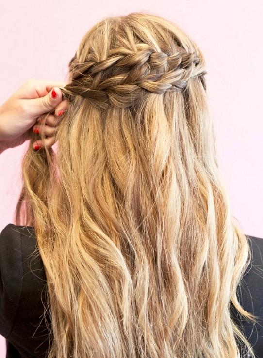 20 Braided Hairstyles Tutorials: How to Style Waterfall Braids