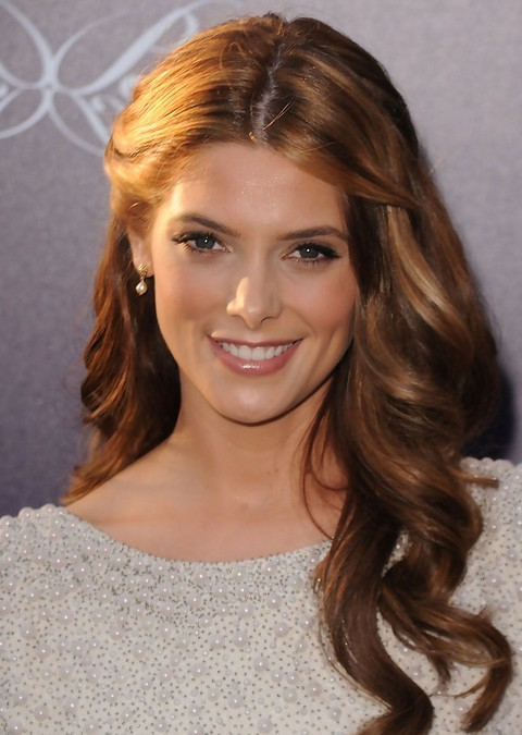 Swell Ashley Greene Long Hairstyle Curls For Party Pretty Designs Short Hairstyles Gunalazisus