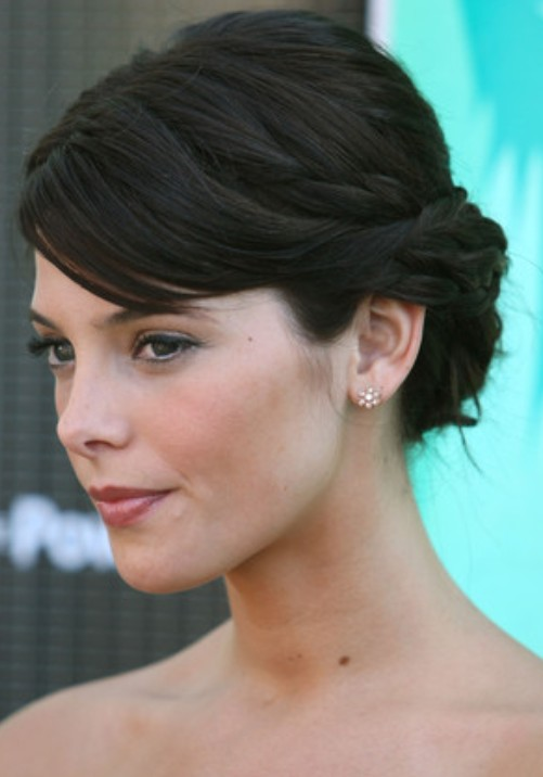 Ashley Greene Updo Hairstyle Classic Pretty Designs