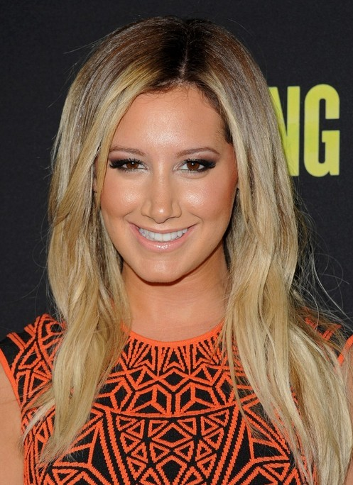 Ashley Tisdale Long Hairstyle: Straight Hair