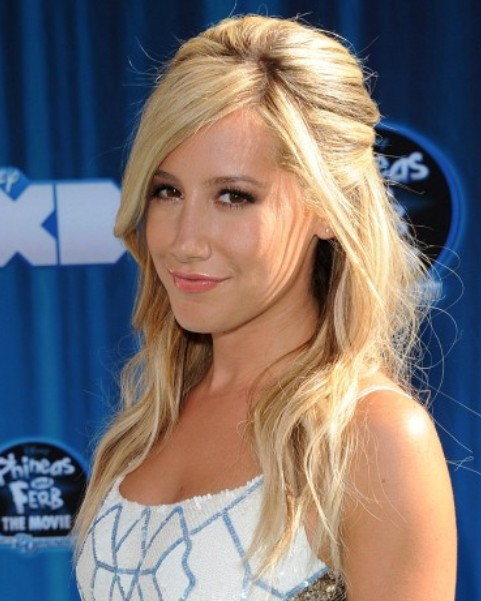 Ashley Tisdale Long Hairstyle: Sunny-kiss Beehive 'do