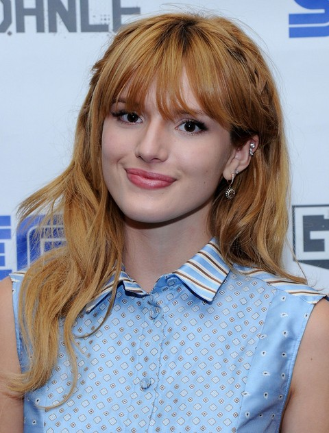 Bella Thorne Long Hairstyle: Subtle Waves with Braids - Pretty Designs
