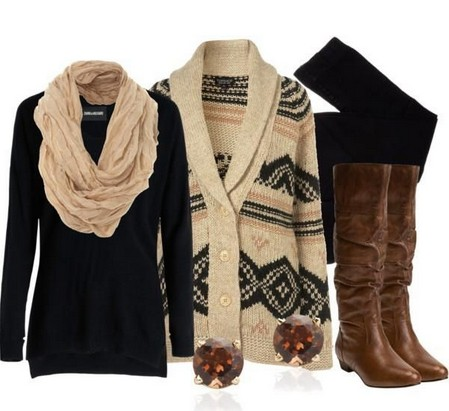 A Classic Collection of Brown Outfit Looks for Women 2014 - Pretty ...