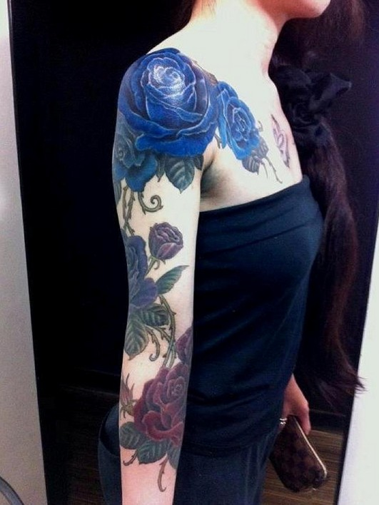 0ed797fbb 55 Best Rose Tattoos Designs - Best Tattoos for Women - Pretty Designs