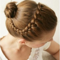 Braided Updo Hairstyles Tutorials: Cute Bun Updos for Everyday