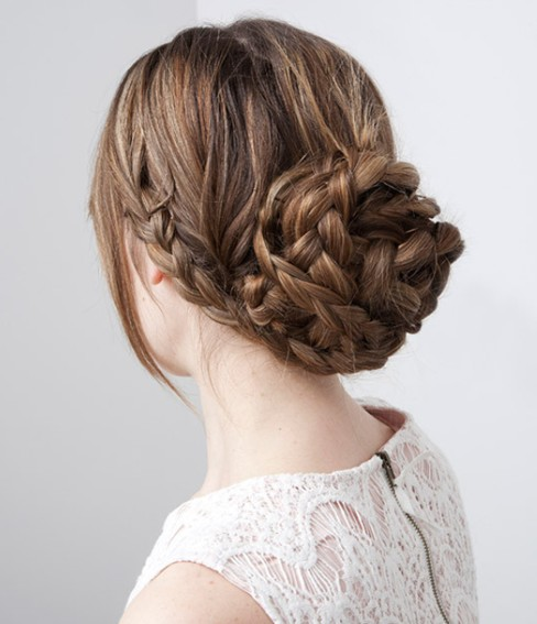 Braided Updo Hairstyles Tutorials: Easy updo ideas for long hair