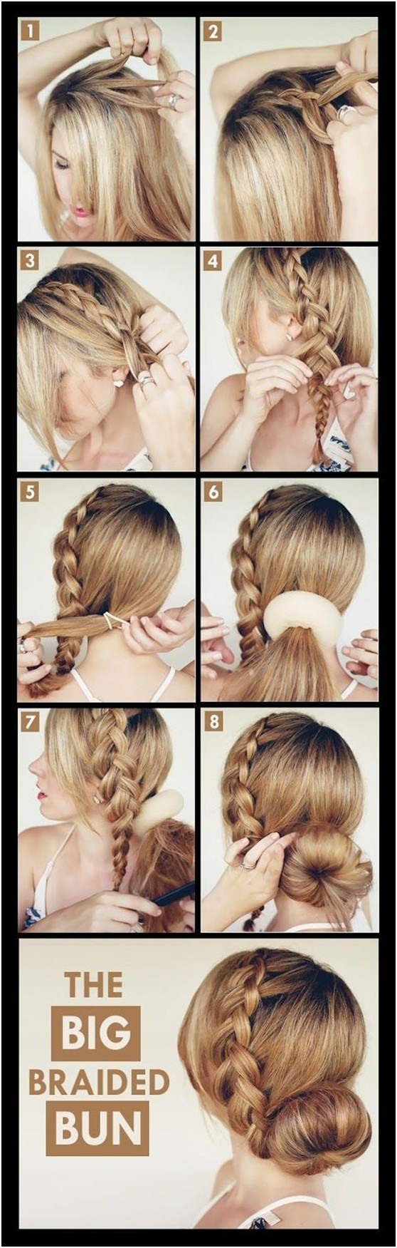 Superb 15 Braided Updo Hairstyles Tutorials Pretty Designs Hairstyle Inspiration Daily Dogsangcom