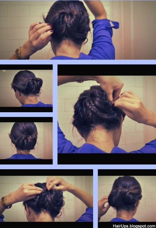 Braided Updo Hairstyles Tutorials: Working updos for women