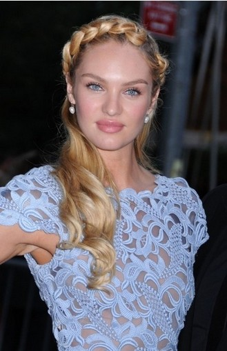 Astounding Wavy Braided Hair Updo Braids Hairstyles For Women Draintrainus