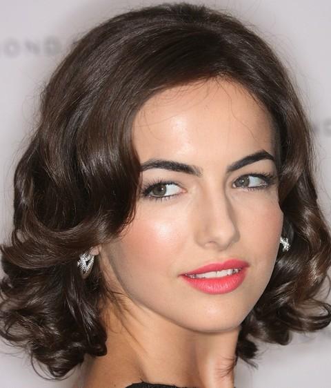 Camilla Bella Hairstyles: Elegant Medium Curls