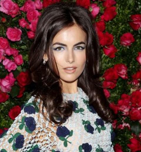 Camilla Bella Hairstyles: Retro-chic Hairstyle