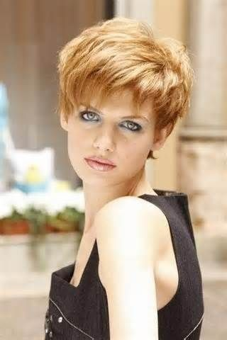 Chppy Short Haircut for Blond Thick Fine Hair