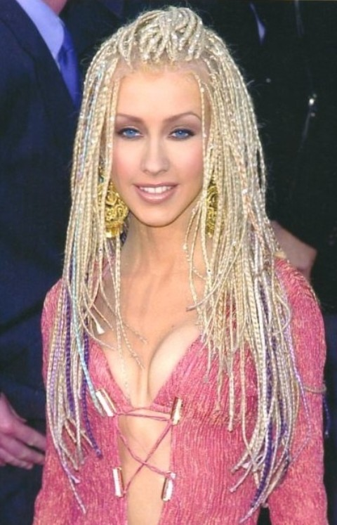 Christina Aguilera Hairstyles: Amazing Long Braids - Pretty Designs
